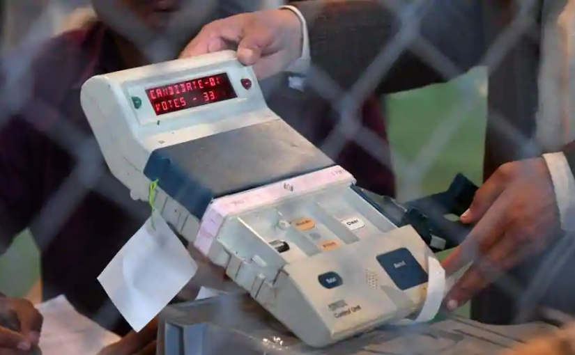 #EVM machine of #ElectionCommission never falter?